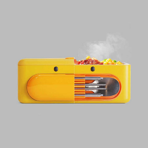 Cute Duck Self Heat Lunch Box 19 - Sneapy