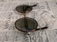 Vintage 1920's round framed sunglasses