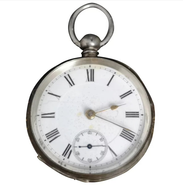 Antique Swiss silver pocket watch, Paragon
