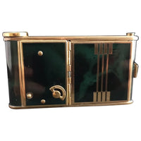 Art Deco musical compact