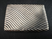 Antique Victorian silver cigarette case