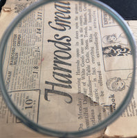 Antique Victorian silver magnifying glass
