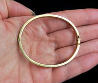 Antique Victorian 15ct gold bangle