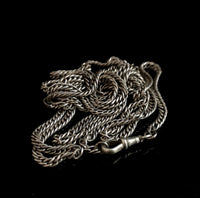Antique Victorian longuard chain, John Round