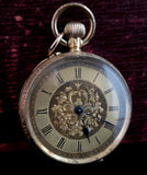 Antique 18ct gold pocket watch, fob watch