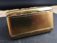 Vintage Art Deco, carryall compact purse, LSM, 1930's