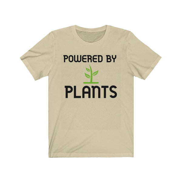 Powered By Plants Short Sleeve Tee