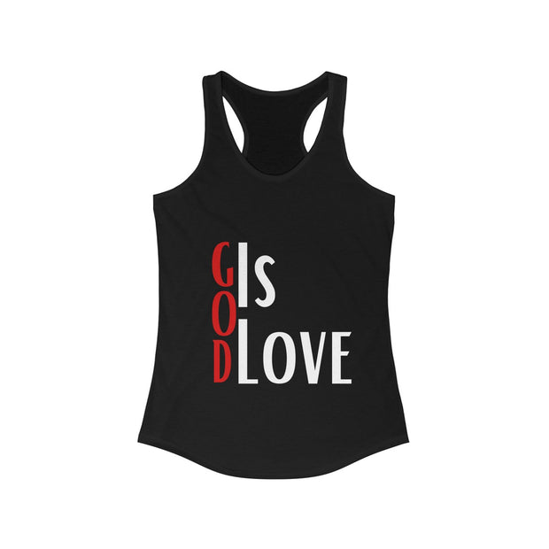 God Is Love Racerback Tank
