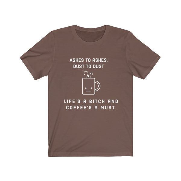 Coffee's A Must Short Sleeve Tee