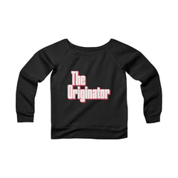 The Originator Off-the-Shoulder Women's Sweatshirt
