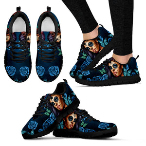 Women's Athletic Sneakers/Torquios Calavera