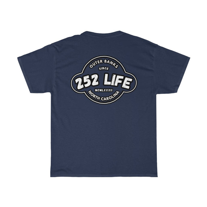 252 Life/Basic/Classic/Arch/Unisex Heavy Cotton Tee