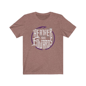 Heather Edwards Band/Purple Haze/Front Print/Unisex Jersey Short Sleeve Tee