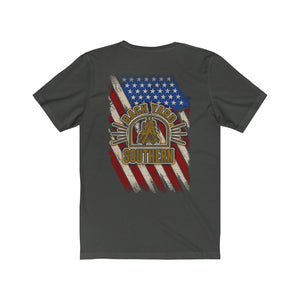 Backyard Southern/Old Glory/Logo/Back Shot/Unisex Jersey Short Sleeve Tee