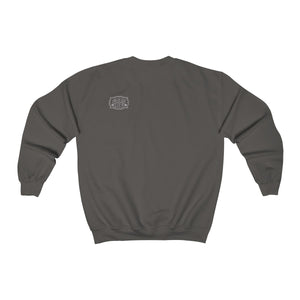 Genuine 615 Life/Work Wear Logo/Buckle/07/White/Unisex Heavy Blend™ Crewneck Sweatshirt