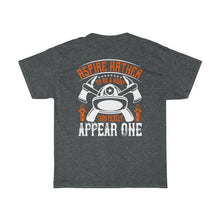 Load image into Gallery viewer, Apsire/Firehouse Family/Back Print/Unisex Heavy Cotton Tee