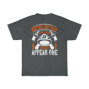 Apsire/Firehouse Family/Back Print/Unisex Heavy Cotton Tee