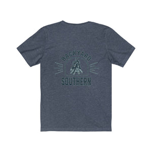 Backyard Southern/Classic/Water Logo/Back Shot/Unisex Jersey Short Sleeve Tee