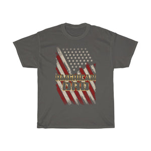 American Dad/Front Logo/Gold/Got Ya Dad/Unisex Heavy Cotton Tee
