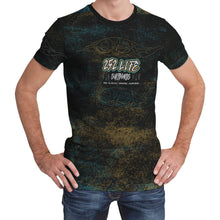 Load image into Gallery viewer, 252 Life Surfboards/Unisex Tee/Blue/Bronze/OBX Wave