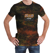 Load image into Gallery viewer, 252 Life Surfboards/Unisex Dry Fit Tee/Orange/Yellow/OBX Wave