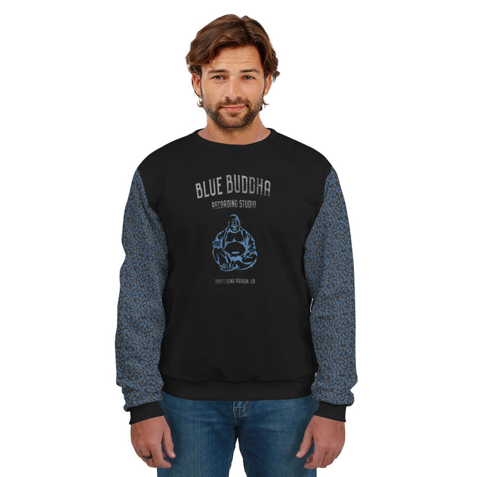 Blue Buddha/Recording Studio/Sweatshirt/Blue Roses/Sleeves