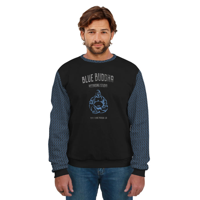 Blue Buddha/Recording Studio/Sweatshirt/Tiled/Sleeves