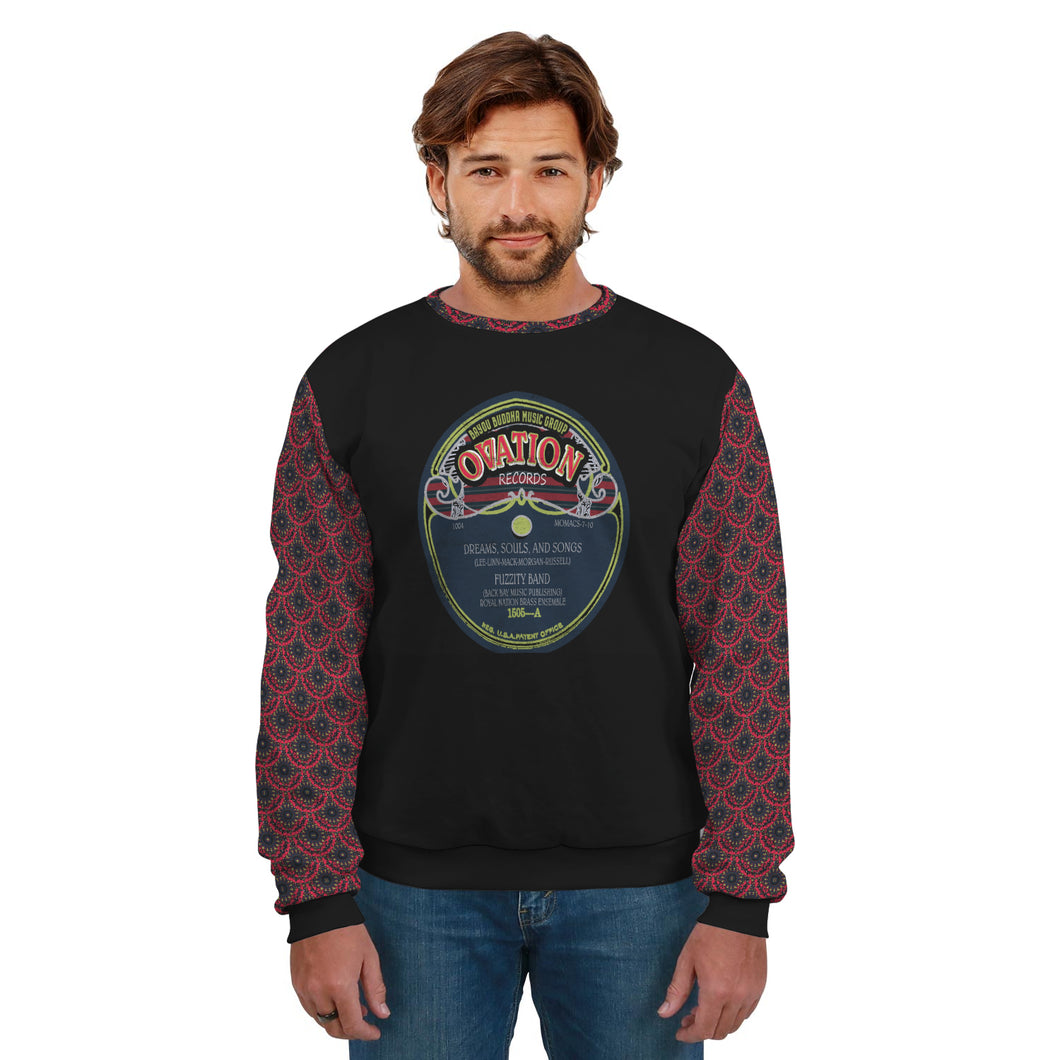 Ovation Records/Fuzzity/Unisex Sweatshirt/Mandala SLeeves