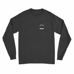 Backyard Southern/Blue Crab/Long Sleeve T Shirt