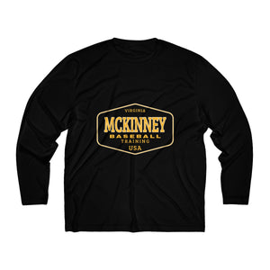 McKinney Baseball/Work Logo/Men's Long Sleeve Moisture Absorbing Tee