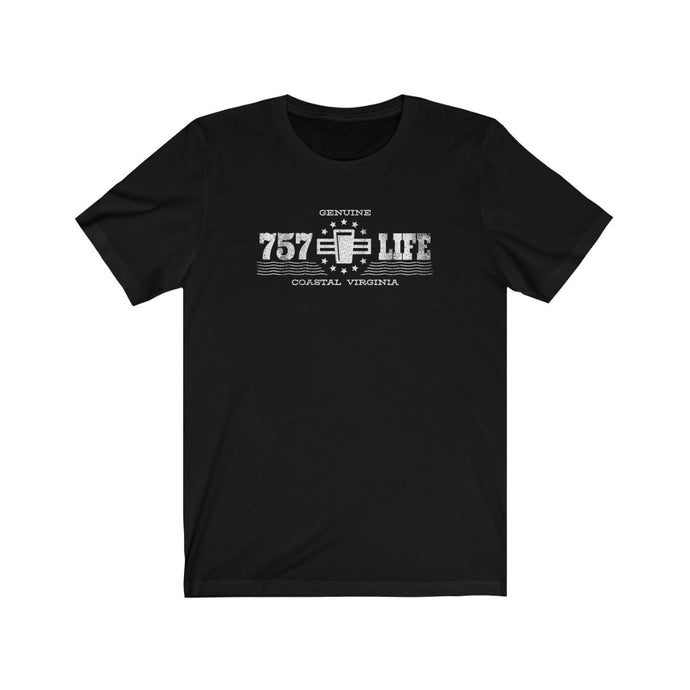 Genuine 757 Life/Classic/Pint/Beer/Unisex Jersey Short Sleeve Tee