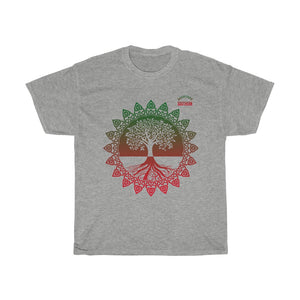 Tree Of Knowledge/Earth/Backyard Southern/Unisex Heavy Cotton Tee