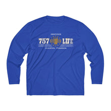 Load image into Gallery viewer, Genuine 757 Life/Dry Fit/Classic/Gold/Pint/Beer/Men's Long Sleeve Moisture Absorbing Tee