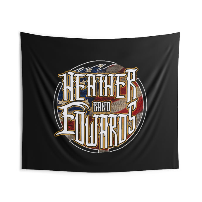Heather Edwards Band/Patriotic/Indoor Wall Tapestries