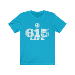 Genuine 615 Life/Big Logo/Unisex Jersey Short Sleeve Tee