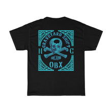 Load image into Gallery viewer, 252 Life/Graveyard Shift/Teel Blue/Unisex Heavy Cotton Tee