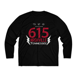 615 Bolt/Men's Long Sleeve Moisture Absorbing Tee