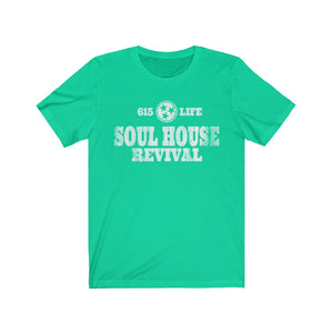 615 Life/Soul House Revival/Stamp/Unisex Jersey Short Sleeve Tee