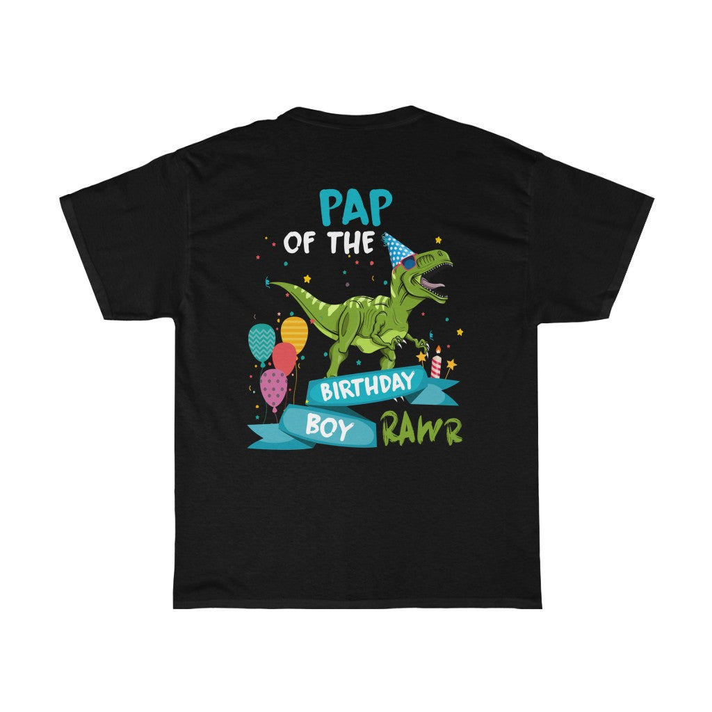 Pap Of Birthday Boy/Got Ya Dad/Unisex Heavy Cotton Tee