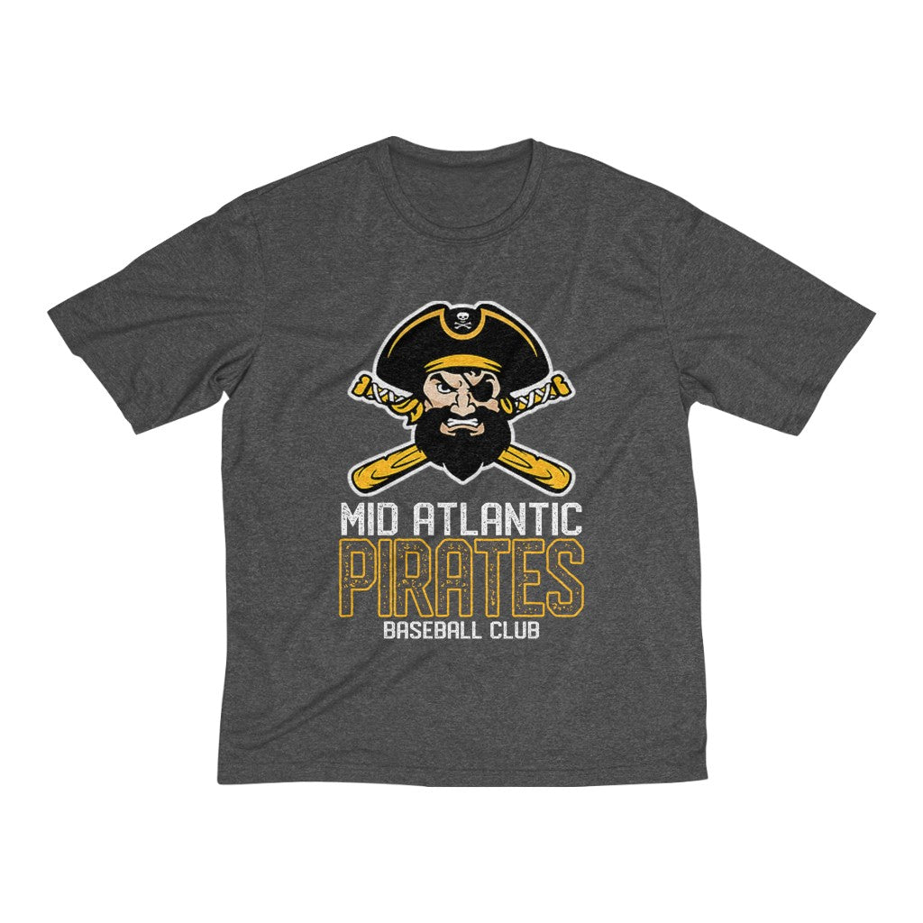Mid Atlantic Pirates BB Club Tee/Dry Fit/Top Roger/Men's Heather Tee