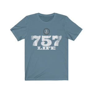 Genuine 757 Life/Big Logo/Seal/Unisex Jersey Short Sleeve Tee
