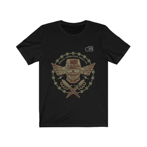 Special Operations Command/Skull Daggers/Unisex Jersey Short Sleeve Tee