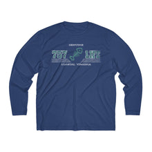 Load image into Gallery viewer, Genuine 757 Life/Dry Fit/Classic/Teal/Fish Bone/Men's Long Sleeve Moisture Absorbing Tee