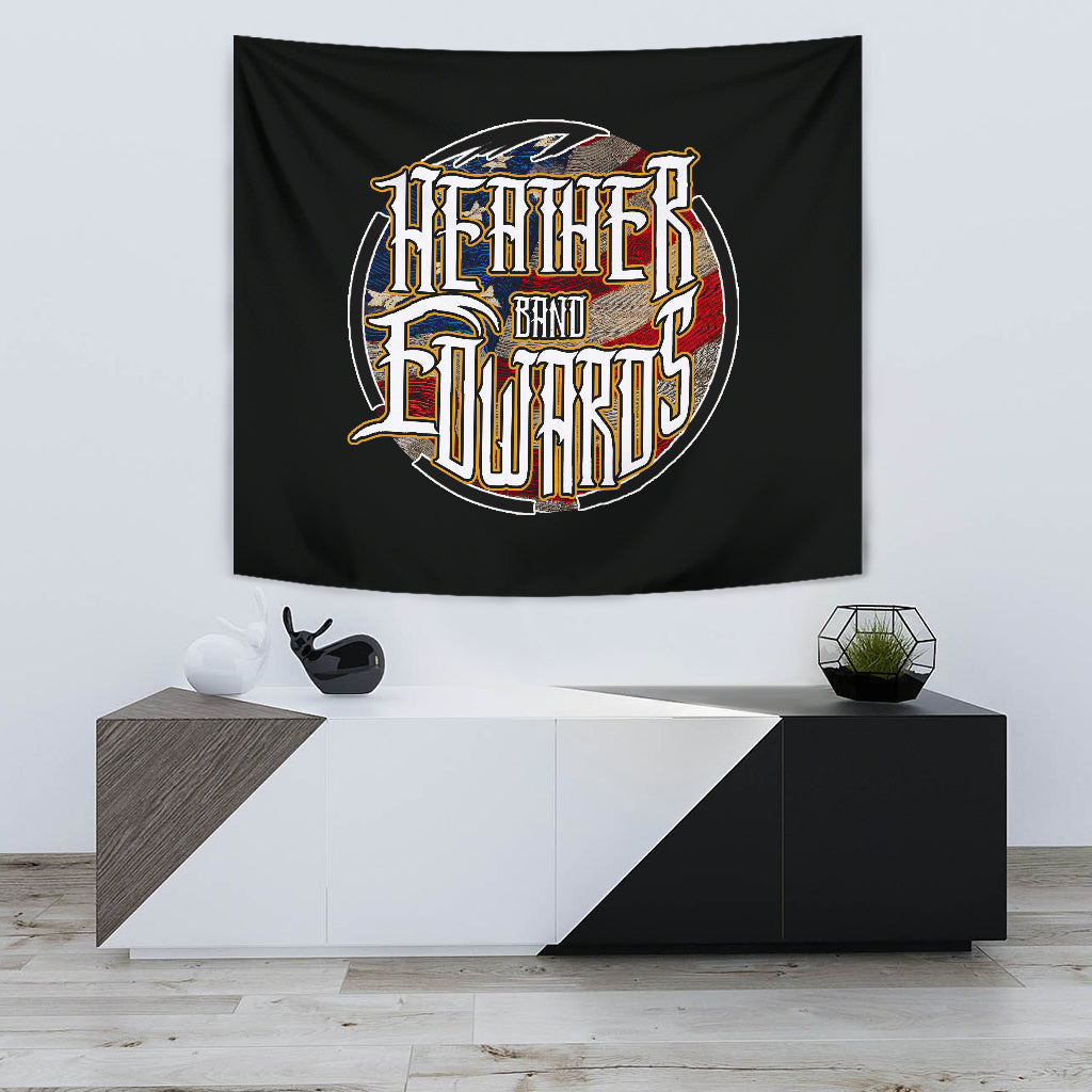 Heather Edwards Band/Patriotic Logo/Tapestry