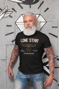Genuine Lone Star/Garage/Light/Unisex Jersey Short Sleeve Tee