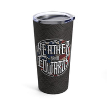Load image into Gallery viewer, Heather Edwards Band/Patriot Diamond Plate/Tumbler 20oz