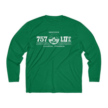 Load image into Gallery viewer, Genuine 757 Life/Dry Fit/Classic/Campfire/Men's Long Sleeve Moisture Absorbing Tee