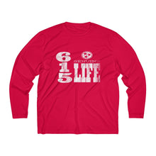 Load image into Gallery viewer, Genuine 615 Life/Vert Logo/Dry Fit/Men's Long Sleeve Moisture Absorbing Tee