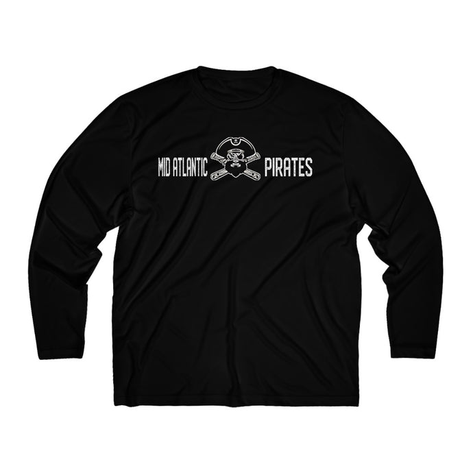 Mid Atlantic Pirates/Dry Fit//Basic Roger/Men's Long Sleeve Moisture Absorbing Tee