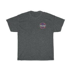 Safety First No.2/Firehouse Family/Back Print/Unisex Heavy Cotton Tee